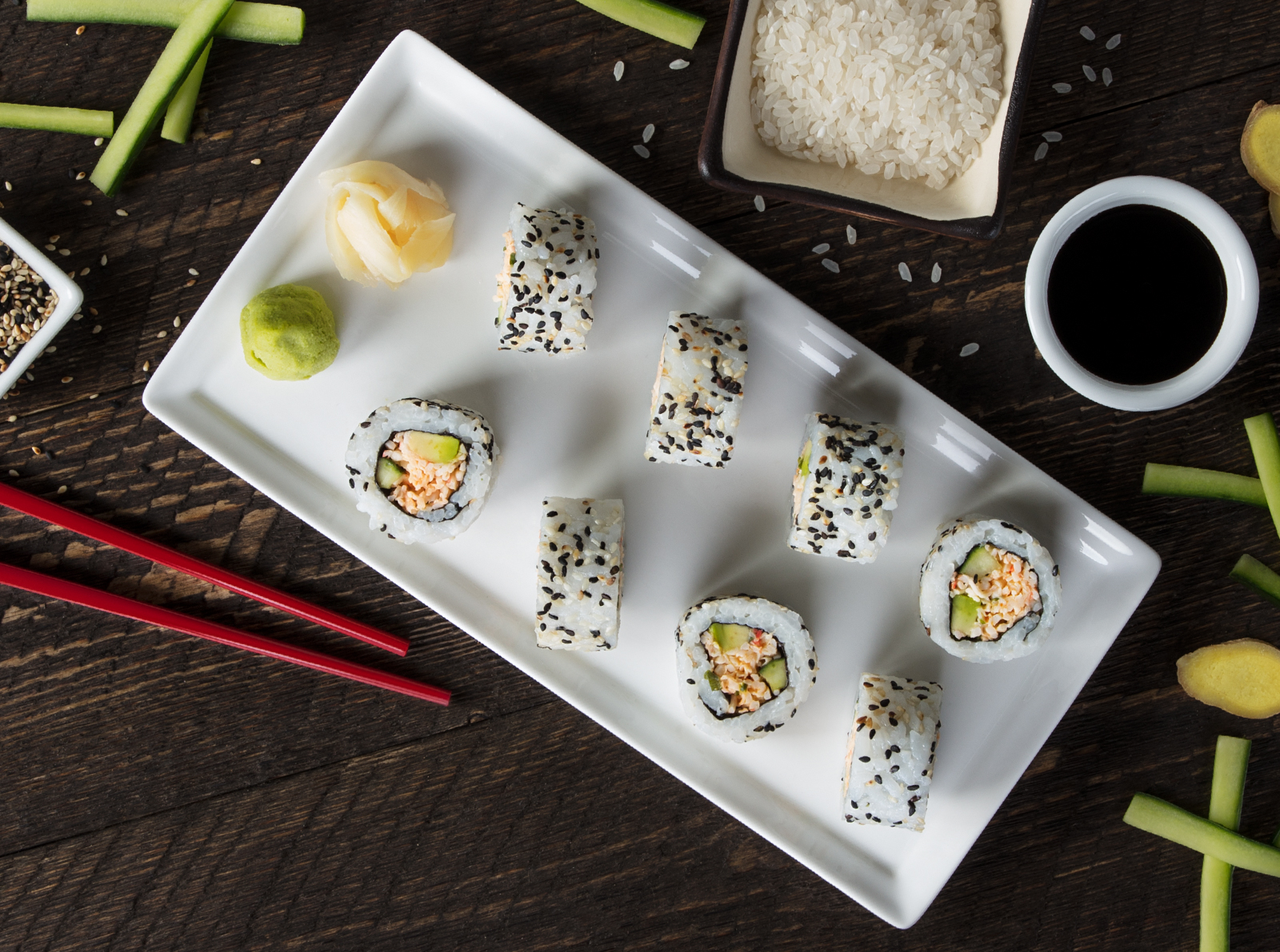 Free Sushi Day: Get FREE sushi at P.F. Chang's TODAY!