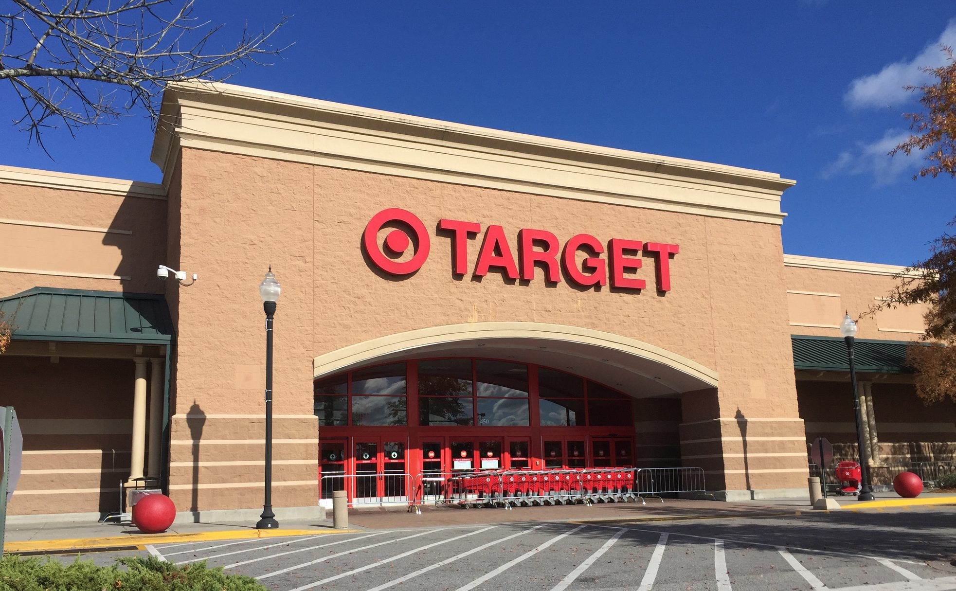 Target takes 10% off for military members & veterans