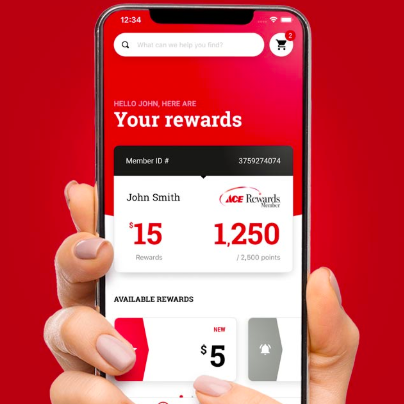 Save $5 by downloading the Ace Hardware app