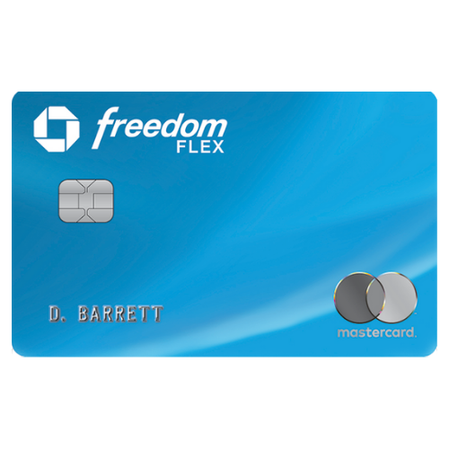 Chase Freedom Flex Card: Get a $200 signup bonus with $500 spend