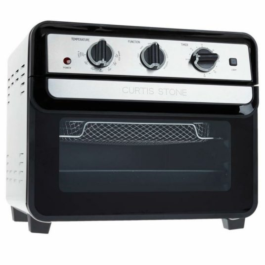 Refurbished Curtis Stone Dura-Electric 1700-watt air fryer oven for $100, free shipping