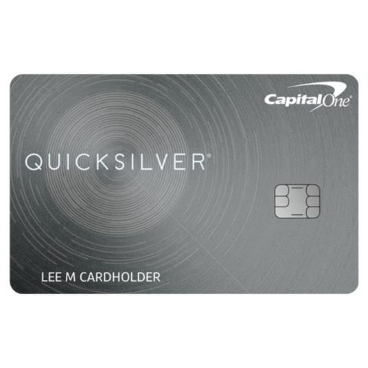 Get a $200 bonus with the Capital One Quicksilver card