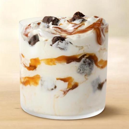 Get a FREE Caramel Brownie McFlurry today
