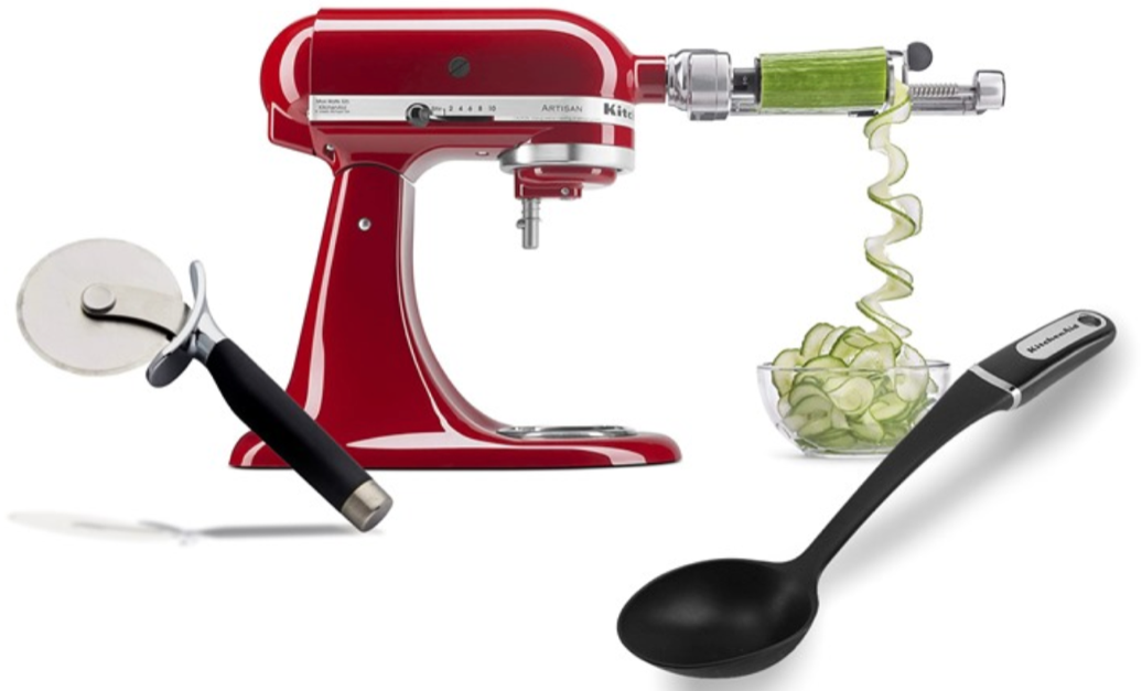 Today only: KitchenAid kitchen utensils & accessories from $9