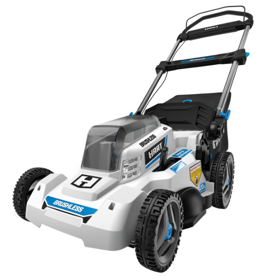 Hart 40-volt cordless push mower with battery for $248